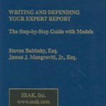 Writing and Defending your Expert Report